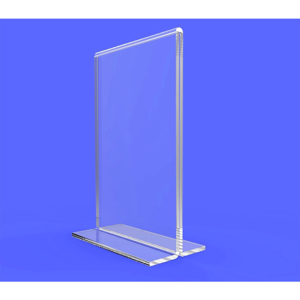 Acrylic Table Tent Menu Card Holders IangelDisplay - Acrylic table tent holders